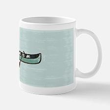 Fisherman Boat Watercolor Small Small Mug