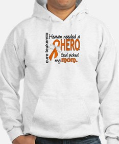 Leukemia Heaven Needed Hero Hoodie Sweatshirt