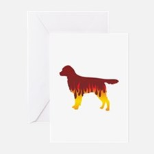 Staby Flames Greeting Cards (Pk of 10)
