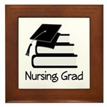Nursing Grad Framed Tile