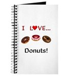 I Love Donuts Journal