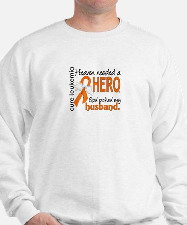 Leukemia Heaven Needed Hero 1.1 Sweater