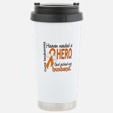 Leukemia Heaven Needed Travel Mug