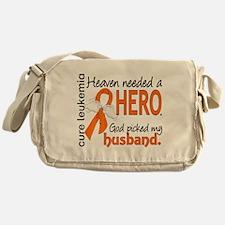 Leukemia Heaven Needed Hero 1.1 Messenger Bag