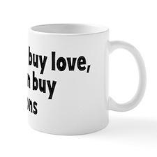 croutons (money) Small Mug