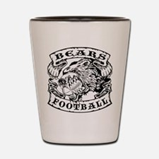 Bears Football Shot Glass