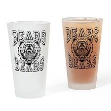 BEARS! BEARS! Drinking Glass