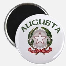 "Augusta, Italy 2.25"" Magnet (10 pack)"