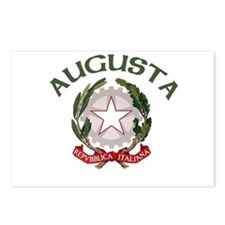 Augusta, Italy Postcards (Package of 8)