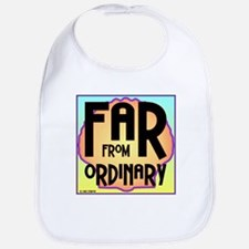 Far Ordinary Cotton Baby Bib