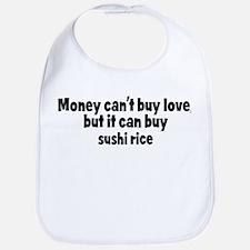 sushi rice (money) Bib
