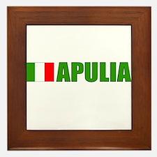 Apulia, Italy Framed Tile