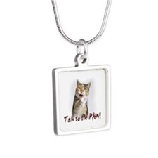 Talk To The Paw.png Necklaces