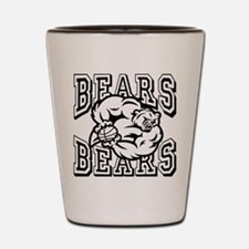 Bears Basketball Shot Glass