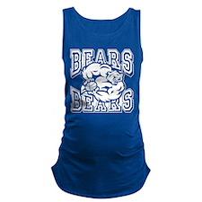 Bears Basketball Maternity Tank Top