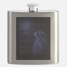 When Im an Old Horsewoman Flask