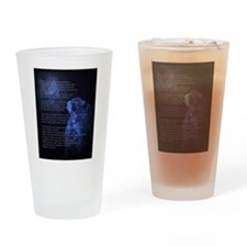 When Im an Old Horsewoman Drinking Glass