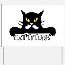 cattitude.png Yard Sign