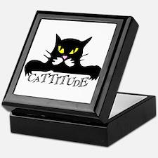 Cattitude.png Keepsake Box
