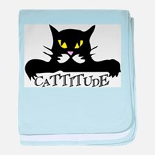 cattitude.png baby blanket