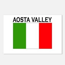 Aosta Valley, Italy Postcards (Package of 8)