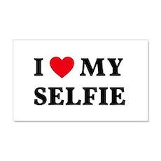 I love my selfie Wall Decal