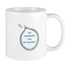 The Ouroboros and the Butterfly Mugs