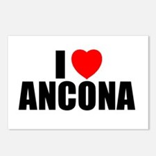 I Love Ancona, Italy Postcards (Package of 8)