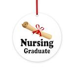 Nursing Graduate Ornament (Round)