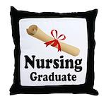 Nursing Graduate Throw Pillow