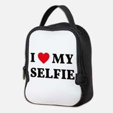 I love my selfie Neoprene Lunch Bag