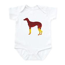 Sloughi Flames Infant Bodysuit