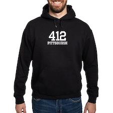 Pittsburgh Area Code 412 Hoody