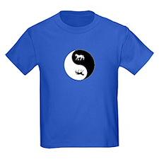 Yin Yang Horse Symbol T