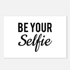 Be your selfie Postcards (Package of 8)