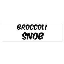 Broccoli Bumper Bumper Sticker