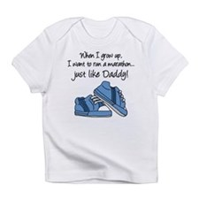 Run Marathon Just Like Daddy Infant T-Shirt