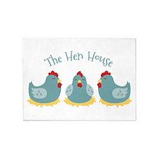 The Hen House 5'x7'Area Rug