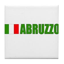 Abruzzo, Italy Tile Coaster