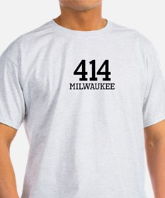 Milwaukee Area Code 414 T-Shirt
