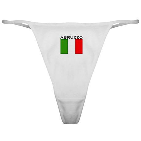 Abruzzo, Italy Classic Thong