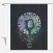 Yoga Tree Shower Curtain
