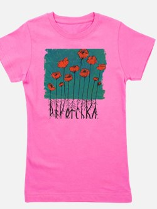 Devotchka Poppies Girl's Tee
