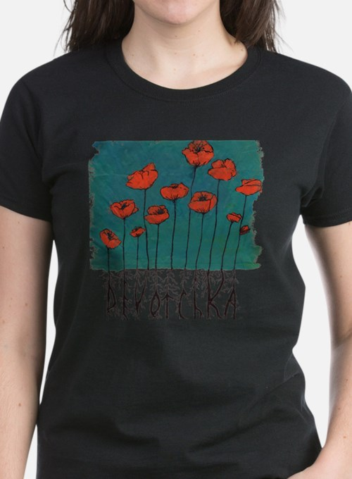 Devotchka Poppies Tee