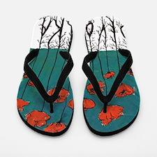 Devotchka Poppies Flip Flops