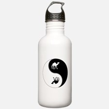 Yin Yang Camel Symbol Sports Water Bottle