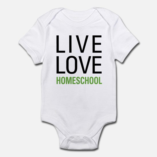 Live Love Homeschool Infant Bodysuit