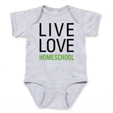 Live Love Homeschool Baby Bodysuit