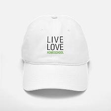Live Love Homeschool Baseball Baseball Cap