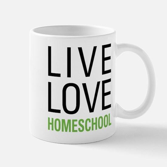 Live Love Homeschool Mug